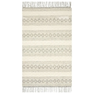 Magnolia Home Holloway Rug by Joanna Gaines - Grey & Ivory