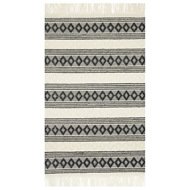 Magnolia Home Holloway Rug by Joanna Gaines - Ivory & Black HOLLYH-01IVBL