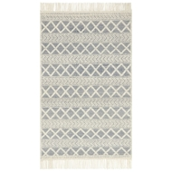 Magnolia Home Holloway Rug by Joanna Gaines - Navy & Ivory HOLLYH-03NVIV
