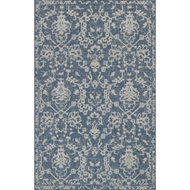 Magnolia Home Warwick Rug by Joanna Gaines - Azure & Grey
