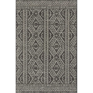 Magnolia Home Warwick Rug by Joanna Gaines - Black & Silver