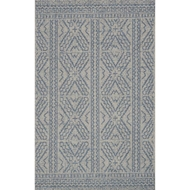 Magnolia Home Warwick Rug by Joanna Gaines - Silver & Azure