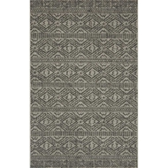 Magnolia Home Warwick Rug by Joanna Gaines - Silver & Black