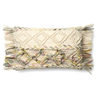 "Magnolia Home by Joanna Gaines 13"" X 21"" Anne Pillow Multi - P1060"