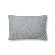 "Magnolia Home by Joanna Gaines 13"" X 21"" Evan Pillow Lt. Blue - P1067"