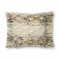 "Magnolia Home by Joanna Gaines 18"" X 18"" Anne Pillow Multi - P1060"