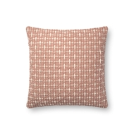 "Magnolia Home by Joanna Gaines 18"" X 18"" Cordelia Pillow Blush - P1096"