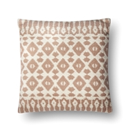 "Magnolia Home by Joanna Gaines 22"" X 22"" Emmie Kay Pillow Blush & Ivory - P1064"