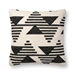 "Magnolia Home by Joanna Gaines 22"" X 22"" Trice Pillow Black & White - P1099 - 10-PSETP1099BLWHPIL3"