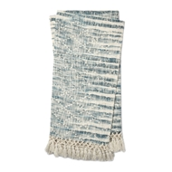 Magnolia Home by Joanna Gaines Else Blue Throw Blanket