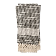 Magnolia Home by Joanna Gaines Emry Black & Grey Throw Blanket