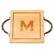 "Maple Leaf 12"" Square Cutting Board"