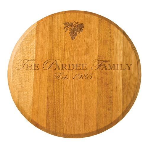 "Maple Leaf 22"" Lazy Susan Gold Oak - 22OAKLAZY-GoldOak"