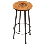 "Maple Leaf 30"" Bar Stool - 3013BARSTOOL-Gold Oak"