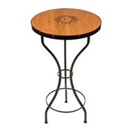 "Maple Leaf 42"" Golden Oak Bar Table - 4224BARTABLE-GoldOak"