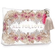Papaya Art All for Love Large Accessory Pouch