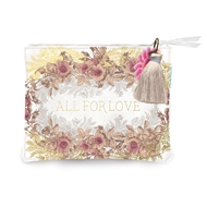 Papaya Art All for Love Pocket Clutch