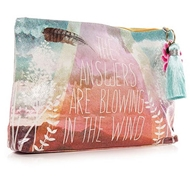 Papaya Art Answers Large Accessory Pouch - Womens Accessories