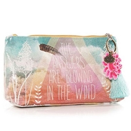 Papaya Answers Small Accessory Pouch - Womens Accessories