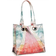 Papaya Art Answers Luxe Tote Bag - Womens Accessories