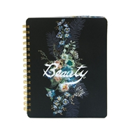 Papaya Art Beauty Bouquet Spiral Notebook