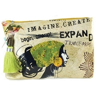 Papaya Art Dreamer Large Accessory Pouch - Womens Accessories