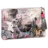 Papaya Art Dream Catch Large Accessory Pouch - Womens Accessories