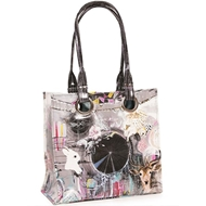 Papaya Art Dream Catcher Luxe Tote Bag - Womens Accesories