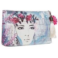 Papaya Art Fireweed Large Accessory Pouch - Womens Accessories