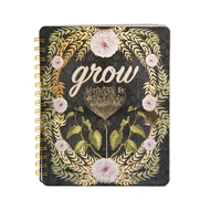 Papaya Art Grow Spiral Notebook