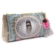 Papaya Art Love Feather Small Accessory Pouch - Womens Accessoriesw