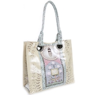 Papaya Art Love Feather Luxe Tote - Womens Accessories
