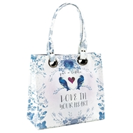 Papaya Art Love In Your Heart Luxe Tote
