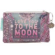 Papaya Art Moon and Back Coin Purse - Womens Accessories