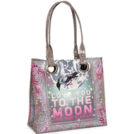 Papaya Art Moon and Back Luxe Tote - Womens Accessories