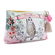 Papaya Art Owl Dreamer Large Accessory Pouch - Womens Accessories