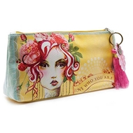 Papaya Art Rose Small Accessory Pouch - Womens Accessories