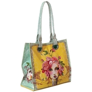 Papaya Art Rose Luxe Tote - Womens Accessories