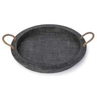 Regina Andrew Home Aegean Serving Tray - Grey
