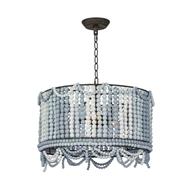 Regina Andrew Lighting Malibu Drum Pendant - Weathered Blue