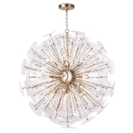 Regina Andrew Lighting Poppy Glass Chandelier - Clear