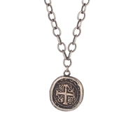 Shannon Koszyk Jewelry Greek Coin Necklace SNCK174