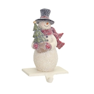 Snowman with Tree Stocking Holder 65406