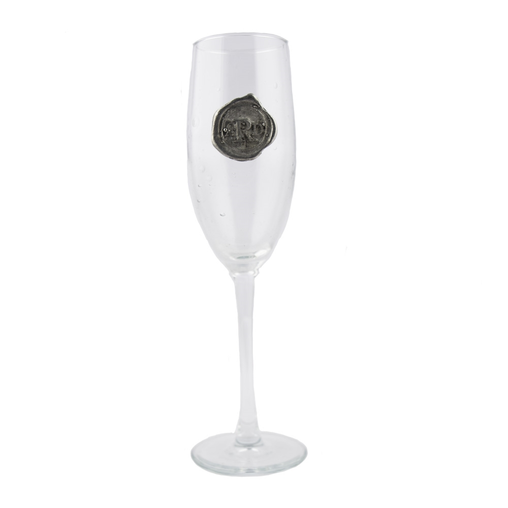 Southern Jubilee Custom Personalized Champagne Flute