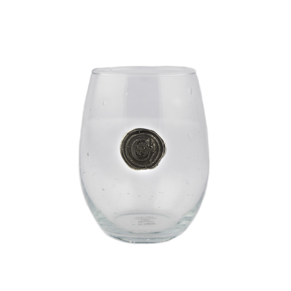 southern jubilee custom stemless wine glass