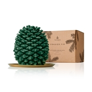 Thymes Frasier Fir Northwoods Molded Pinecone Candle - Petite