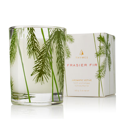 Thymes Frasier Fir Pine Needle Votive Candle 0520733000