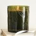 Fraiser Fir Scented Thymes Molded Green Glass Candle