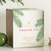 Thymes Molded Green Glass Candle Pine Scented Candle
