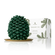 Thymes Frasier Fir Petite Molded Pinecone Candle 0522576000